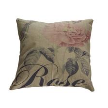 Perna decorativa, model Vintage Rose, 43 x 43 cm