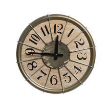 Ceas metalic de perete, Antique zinc