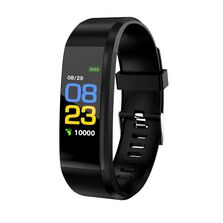 Bratara Fitness Siegbert, ritm cardiac, tensiunea arteriala, calorii, monitorizare somn, IP67, Multisport