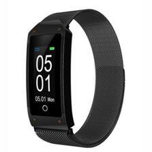 Ceas smartwatch fitness Siegbert, notificari, 0.96 display monitorizare ritm cardiac si tensiune arteriala multi-sport mode waterproof IP67 pedometru