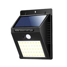 Lampa cu led- incarcare solara si sensor de miscare
