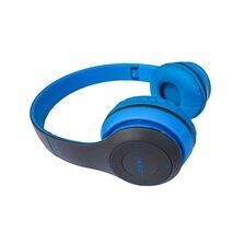 Casti audio Siegbert, P47, wireless, Bluetooth, albastru
