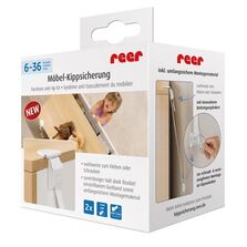 Set fixare anti-inclinare mobilier REER 73020