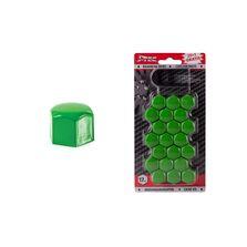 Set capace prezoane 17 mm, culoare Verde