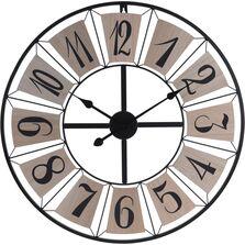 Ceas de perete, cadru metalic, 70 cm