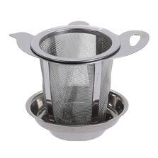 Infuzor metalic ceai, cu suport