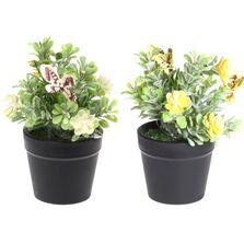 Ghiveci pentru flori artificiale, 14 cm