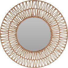 Oglinda perete, cadru nuiele, 60 cm