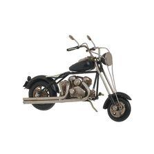 Decoratiune metalica, motocicleta, 20x7x11 cm