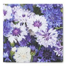 Servetele de masa, 33x33 cm, model floral lila