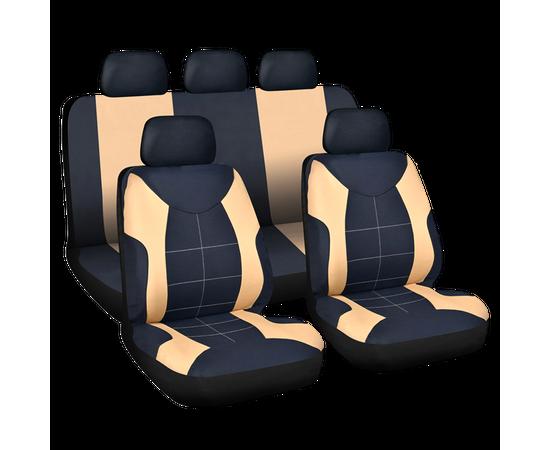 Set huse scaun auto ieftine, Universale 9 piese, model ELEGANCE