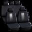 Set huse scaun auto ieftine, Universale 9 piese, model TIRE TRACKS