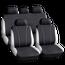 Set huse scaun auto ieftine, Universale 9 piese, model V-Style - GRI