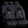 Set huse scaun auto ieftine, Universale 9 piese, model BUTTERFLY
